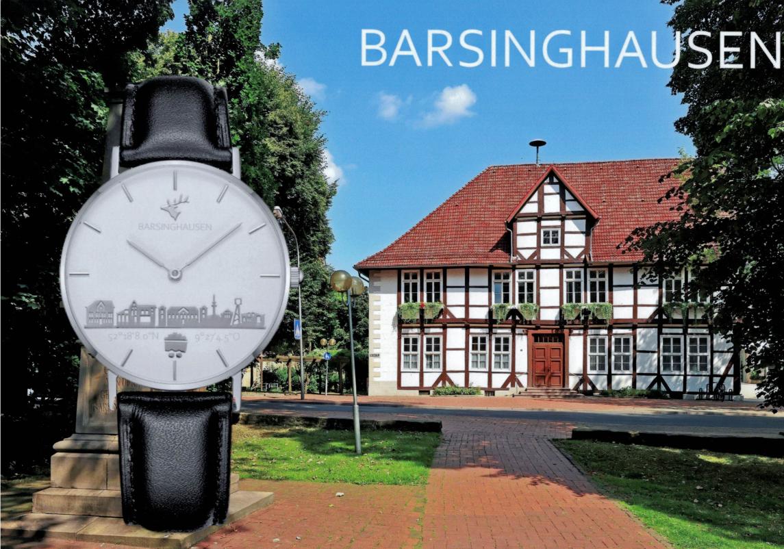 Foto der Barsinghausen Uhr vom Juwelier Speckmann